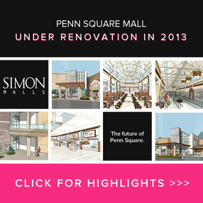 Penn Square Under Renovation in 2013